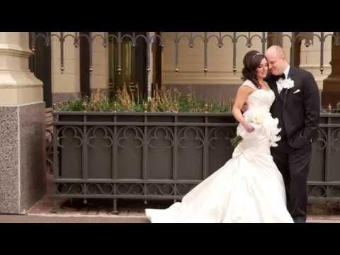 Heather + Brian's Gatsby Themed Wedding Film at Skyloft Events in Tulsa, OK 😍😭