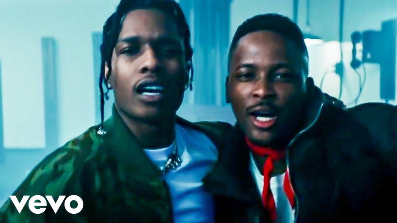 YG - Handgun ft. A$AP Rocky (Official Music Video)
