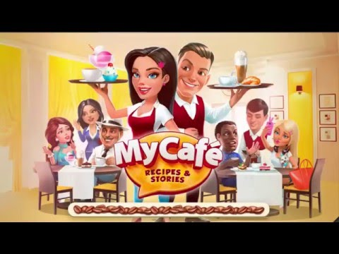 My Cafe: Recipes # 5 Installing Chocolate Syrup & Cappuccino Machine