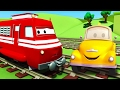 Tom Il Carro Attrezzi E Troy Il Treno In Car City Cartone Animato Per I Bambini