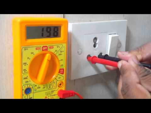 Subscribe this video, Check Voltage and Earthing Through Multimeter.