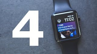Everything New in watchOS 4!