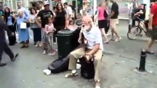 AWESOME! Grandpa singing The Rolling Stones Rocks!