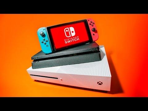 Nintendo Switch vs PS4 vs Xbox One!