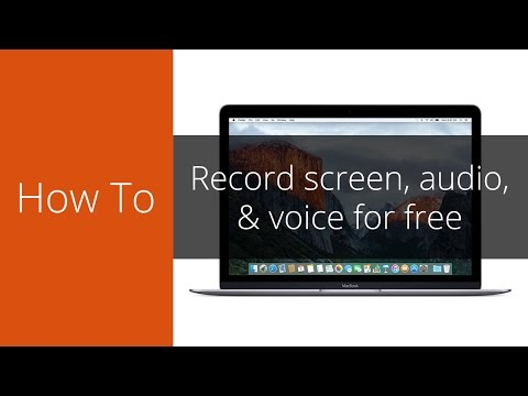 How to record your Mac screen, audio, & microphone for free (See description for updates)