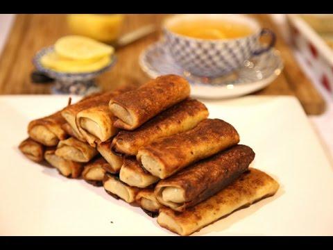 Meat Crepes Recipe - Блинчики с мясом - Heghineh Cooking Show