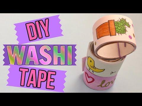DIY WASHI TAPE // Make Your Own // Gift Idea