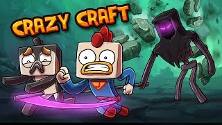 Minecraft | Crazy Craft - What Went WRONG!? (Throw Back Funny Moments)