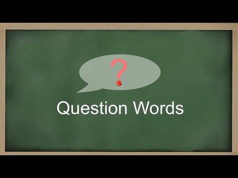 Learn Burmese Language: Question Words