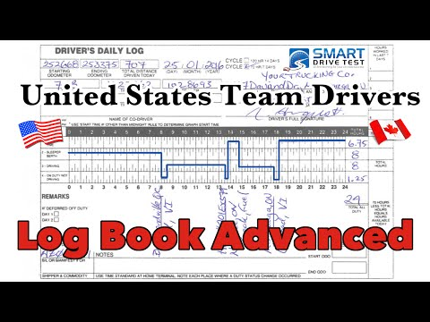 Log Books | Team Driving in the United States