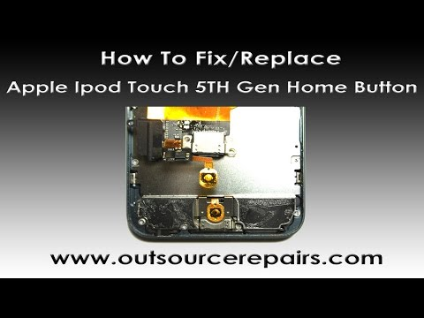 How to fix Apple Ipod Touch 5TH Gen Home Button