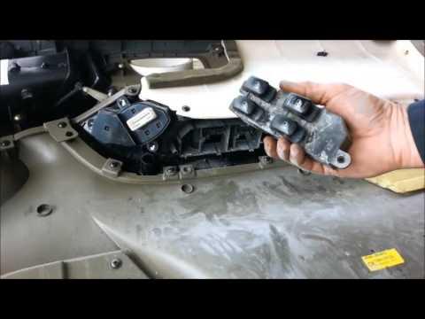 Power window switch replacement - 2004 Hyundai Santa Fe