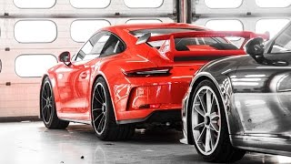 New Porsche 991 GT3 4.0 in Detail exterior and interior !