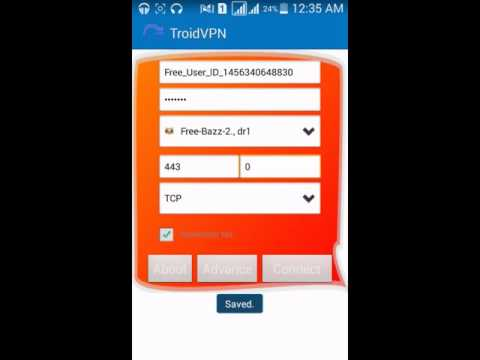 How To Use Free Internet With Troid Vpn App