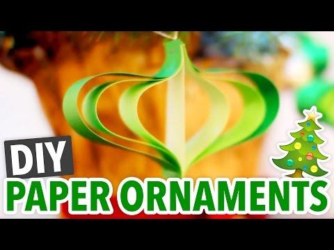 DIY Paper Christmas Ornaments - HGTV Handmade