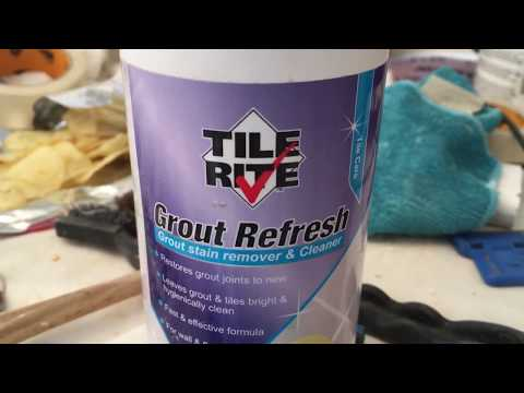 TILE RITE  GROUT  REFRESH    multi tasking    window mould killer  10 May 2018