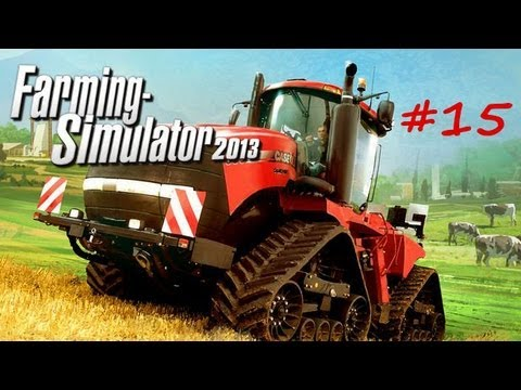 Farming Simulator 2013 Let's Play Episode 15:  Feeding the Cows!!