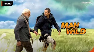 Man Vs. Wild with Bear Grylls and Prime Minister Narendra Modi   Behind The Scenes  12 Aug 9 PM