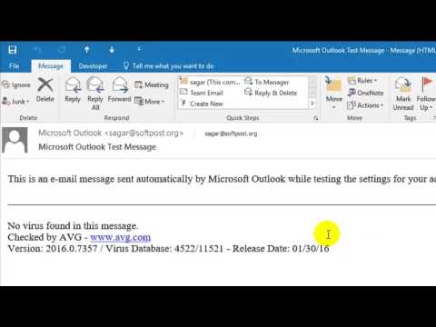 How to zoom in and out Outlook