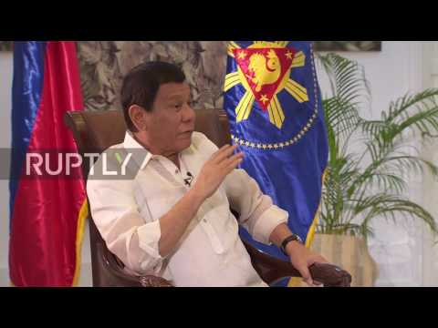 Philippines: Western world is all double-talk – Duterte turns towards Russia