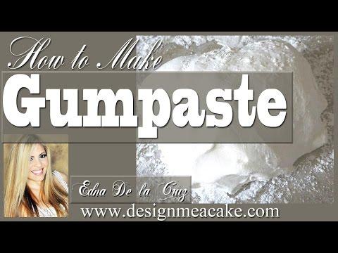 How to make Gumpaste