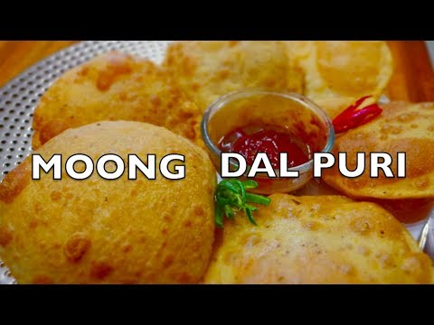 Moong Dal Puri Recipe | Rajasthani delicacy | How to make Moong Dal Puri at home -Curry for the Soul