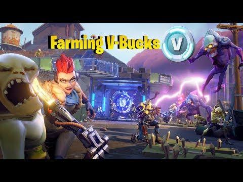 FORTNITE Save the World  - Farming V-Bucks