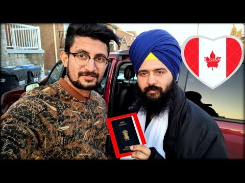 My Brother became Canadian PR [Canada vich Punjabi Student]