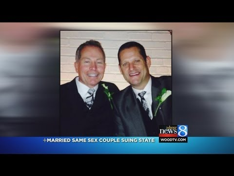 Suit: MI should recognize NY same-sex marriage