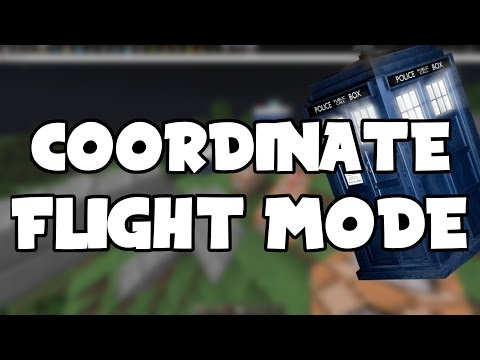 How to make a TARDIS   Minecraft   Coordinate Flight Mode