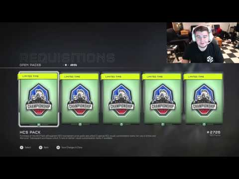 Halo 5 - Opening 5 HCS REQ packs! ($50 in Halo Championship Series)
