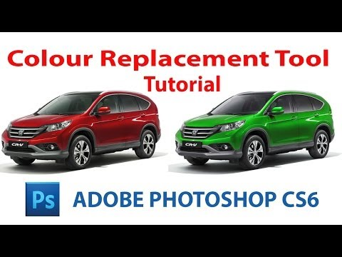 How To Change Colour Of Any Object Easily in Photoshop CS6-Photoshop Tutorial