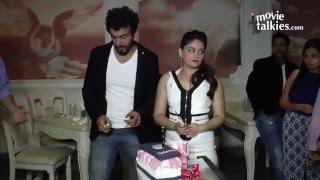 Sunny Leone and Jay Bhanushali At A Party