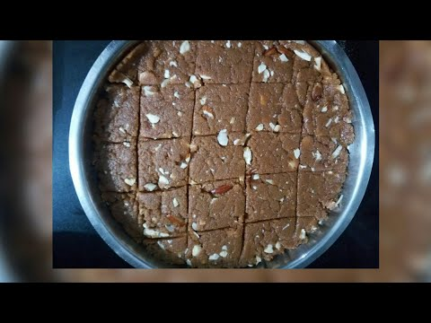 Sukhdi | Sukhdi Recipe | Gur Papdi Recipe | Gol Papdi | Gujrati Sweet Recipe