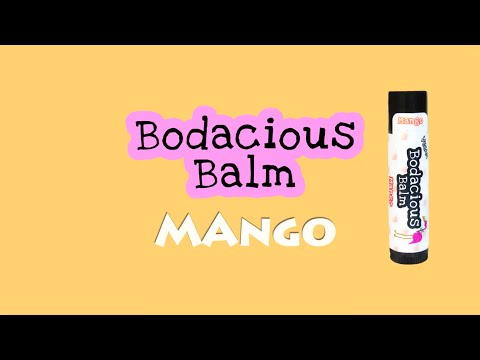 Bodacious Balm - Vegan Lip Balm - Mango