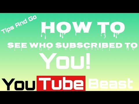 How To Check Your Subscribers (iOS)