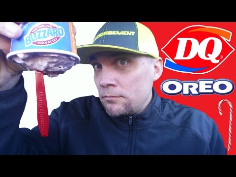 NEW DAIRY QUEEN CANDY CANE OREO BLIZZARD REVIEW #208