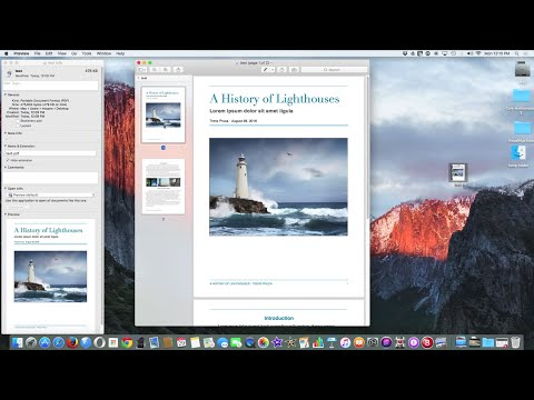 How to Save or Convert Word Doc to PDF on Mac