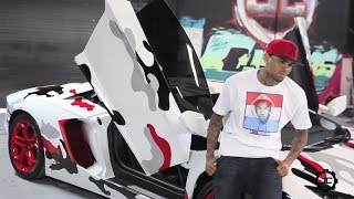 Chris Brown Shows Migos His New Super Car From Album Money