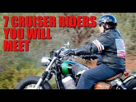 The 7 Cruiser Riders You Will Meet