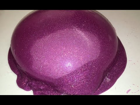 MAKING BIG BUBBLES IN HOLO SLIME