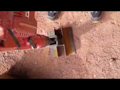 Homemade Rock Crusher (show me some GOLD)