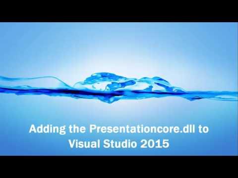 Adding a DLL to Visual Studio 2015