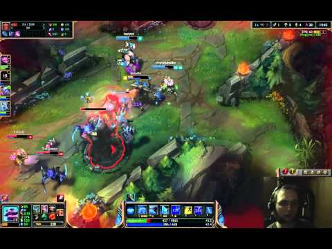 Season 5, Gold V, Game 206: Support Braum