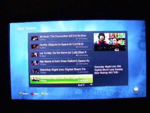 Using Hulu through PlayOn on the Xbox 360