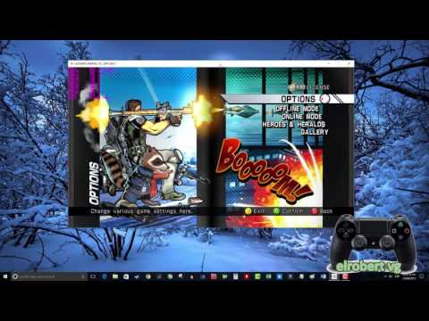 Juega Ultimate Marvel Vs Capcom 3 en PC con tu control de PS4