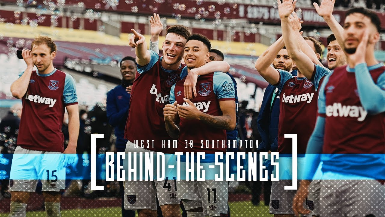 WEST HAM UNITED SECURE EUROPA LEAGUE | BEHIND THE SCENES