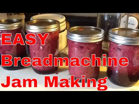 How To:  Homemade Jam In A BreadMachine using fresh or frozen fruit
