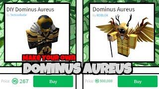 Make Your Own CHEAP DOMINUS! [Dominus Aureus]   Roblox