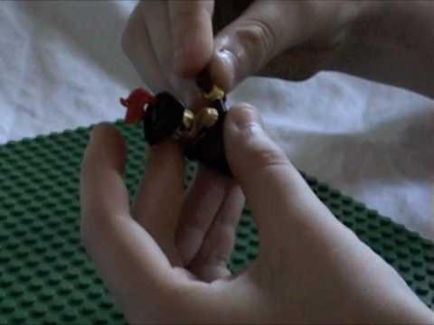 Custom Lego Pirate Captain - Liam Sorrell